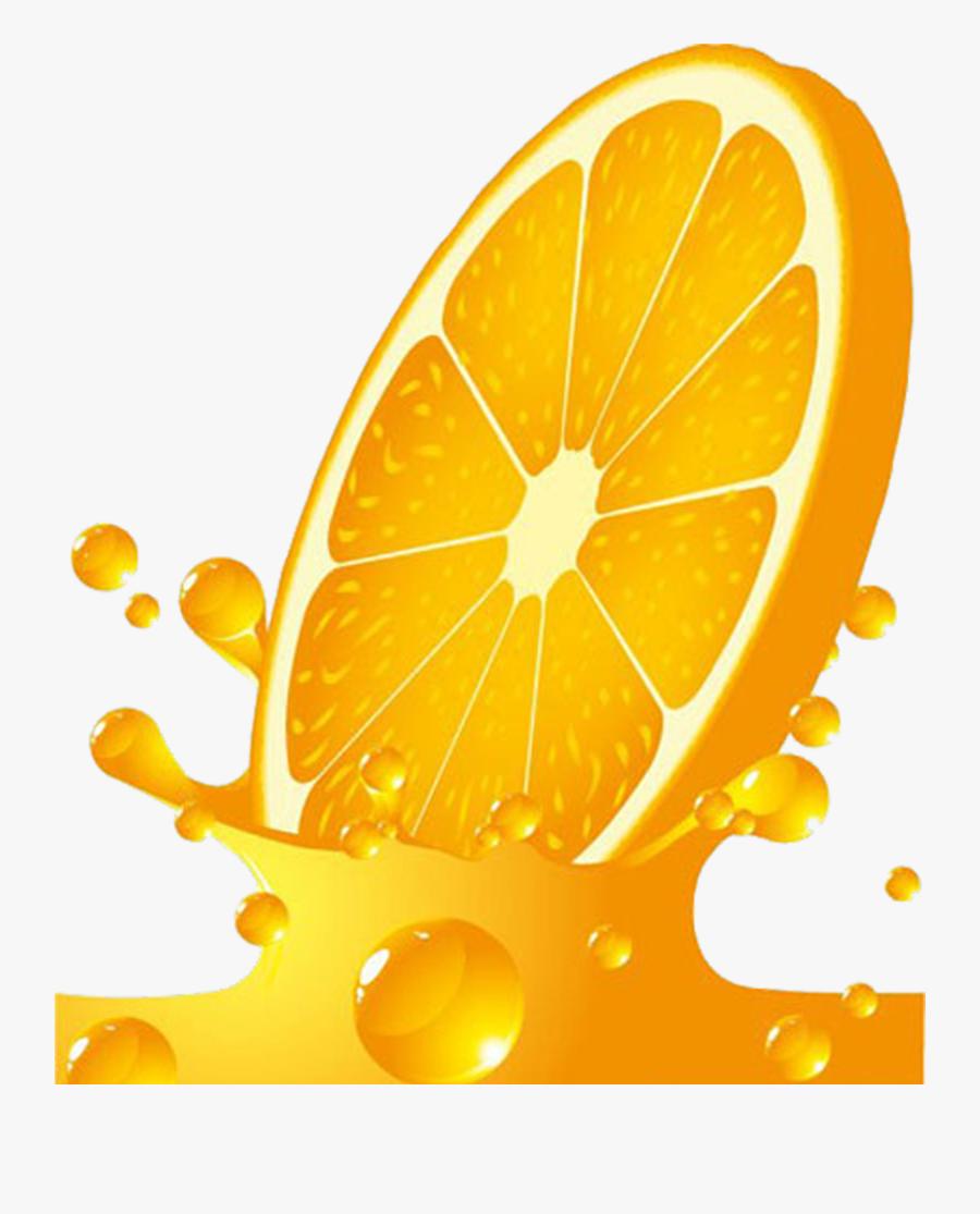 Orange Juice Clip Art - Orange Juice Bottle Labels, Transparent Clipart