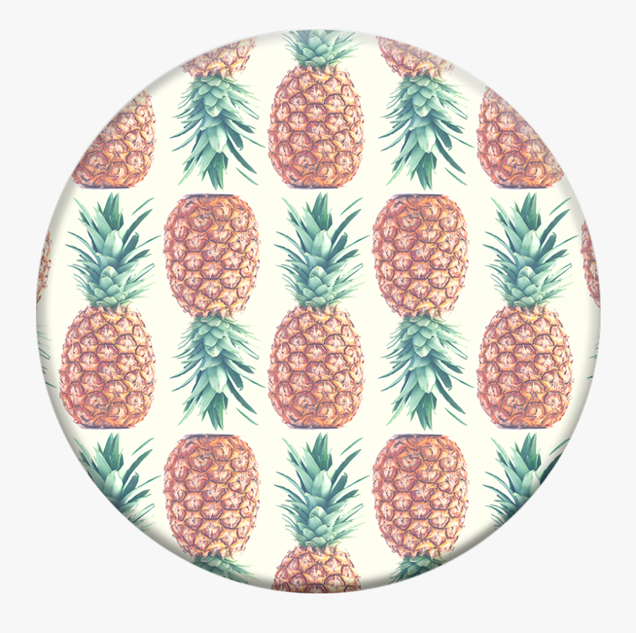 Pineapple Print Popsocket Pineapple Print Popsocket - Pineapple Pattern Popsocket, Transparent Clipart