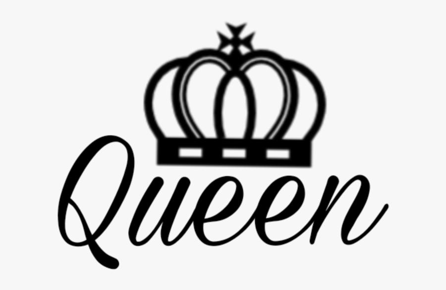 #queen #crown #royal - Crown Royal Queen Logo, Transparent Clipart