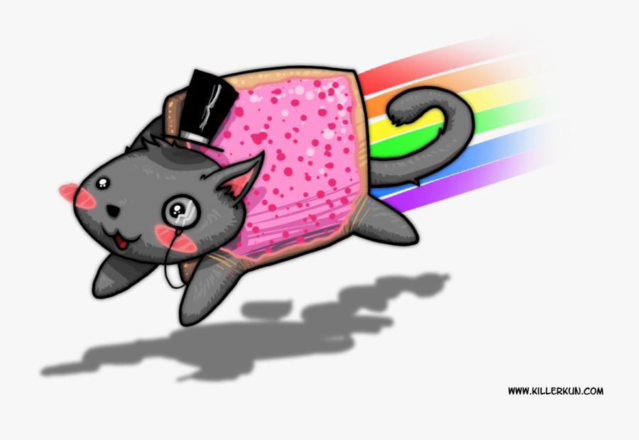 Clip Art Image Nyan Cat Know - Funny Nyan Cat Memes, Transparent Clipart