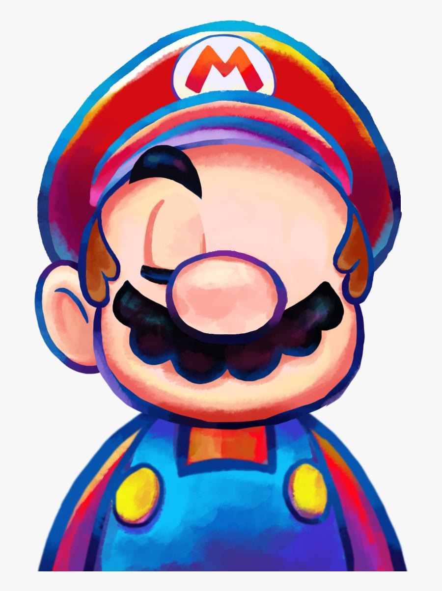Transparent Listening Bodies Clipart Mario Luigi Dream