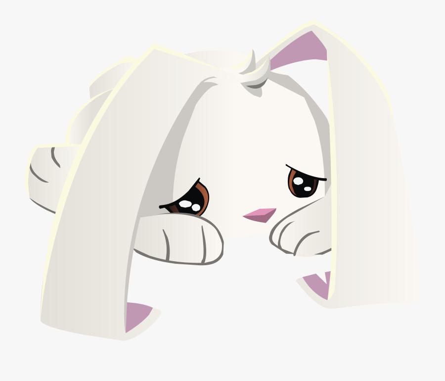 Sad Bunny - Animal Jam Sad Png, Transparent Clipart
