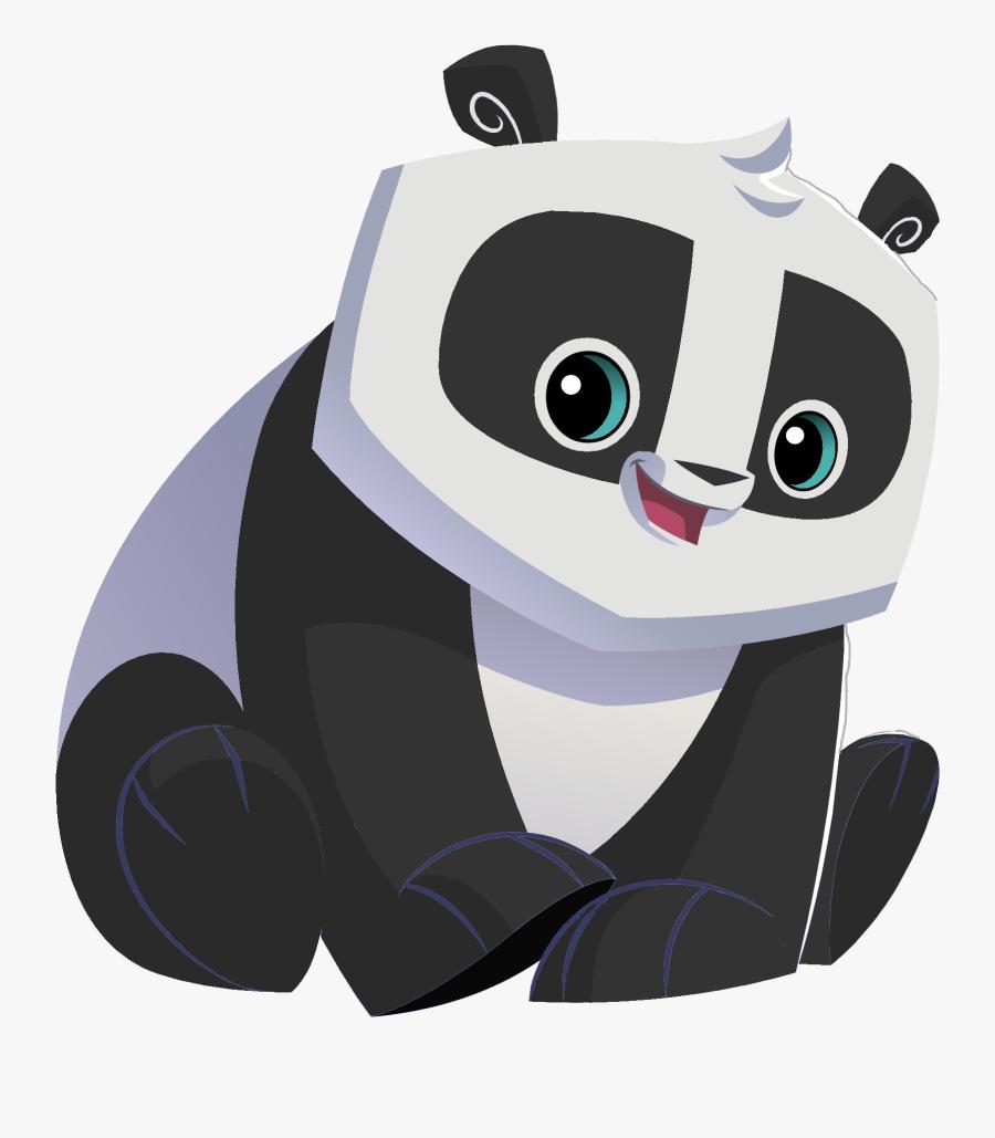 Panda - Animal Jam Panda , Free Transparent Clipart ...