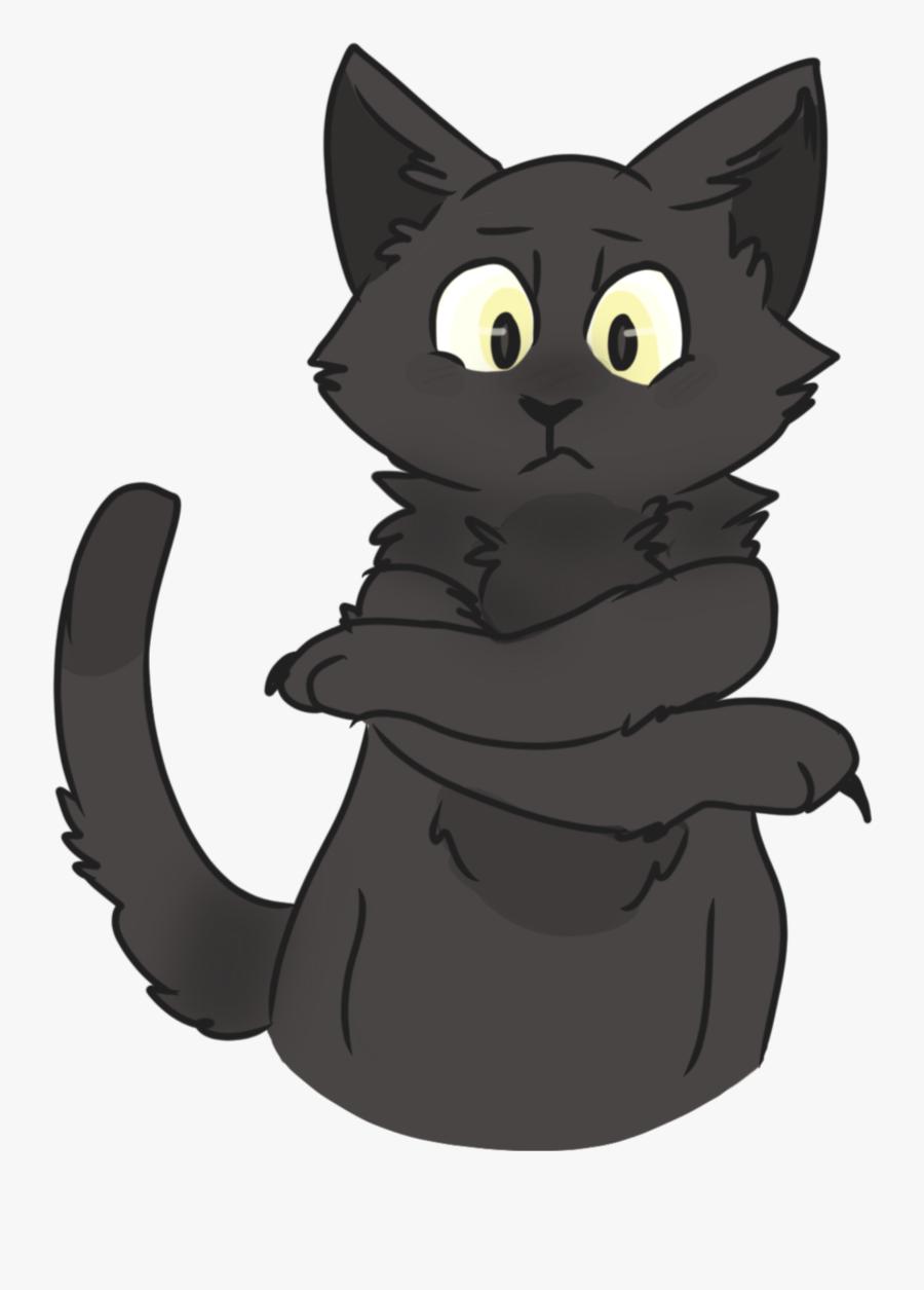 Clip Art Animal Jam Clan - Black Cat, Transparent Clipart