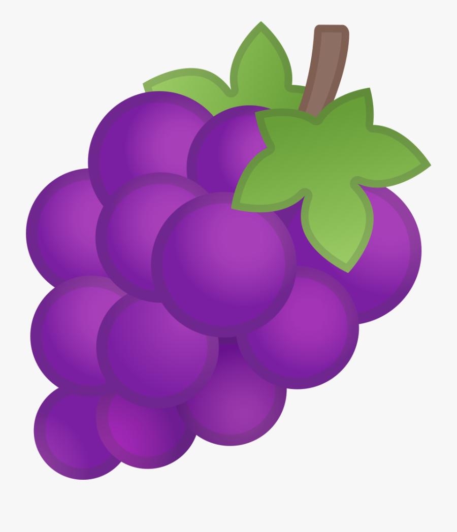 Grapes Icon Noto Emoji - Grapes Emoji, Transparent Clipart