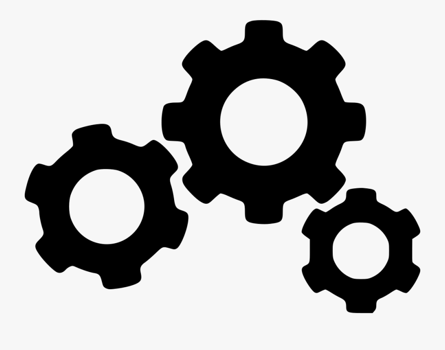Gear Png Icon - Gears Png, Transparent Clipart