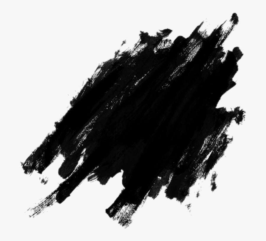 #color #black #splash #watercolor #negro - Splash Black Png, Transparent Clipart