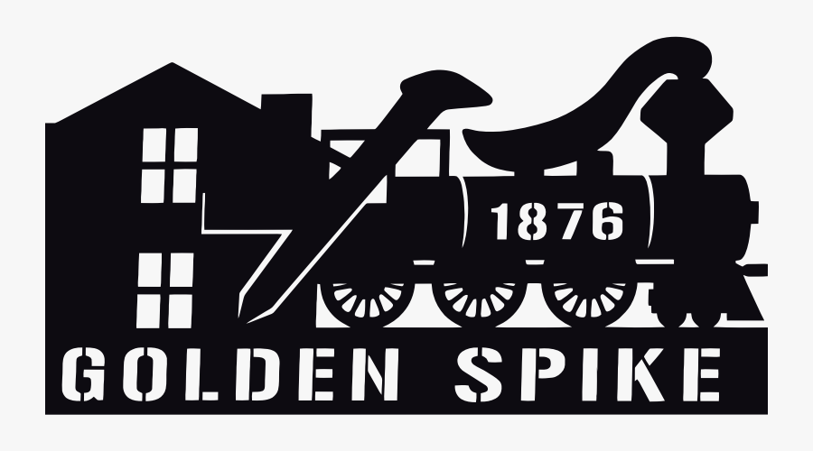 Railroad Logo - Poster, Transparent Clipart