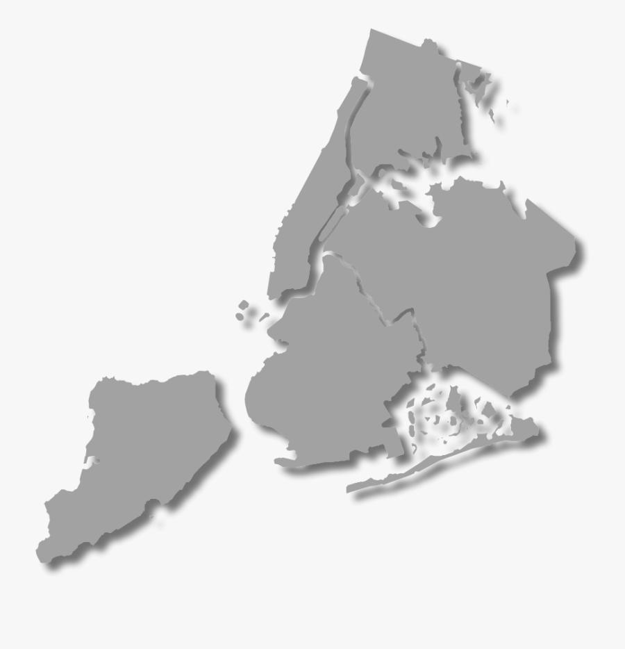 Manhattan Brooklyn Queens Bronx Staten Island, Transparent Clipart