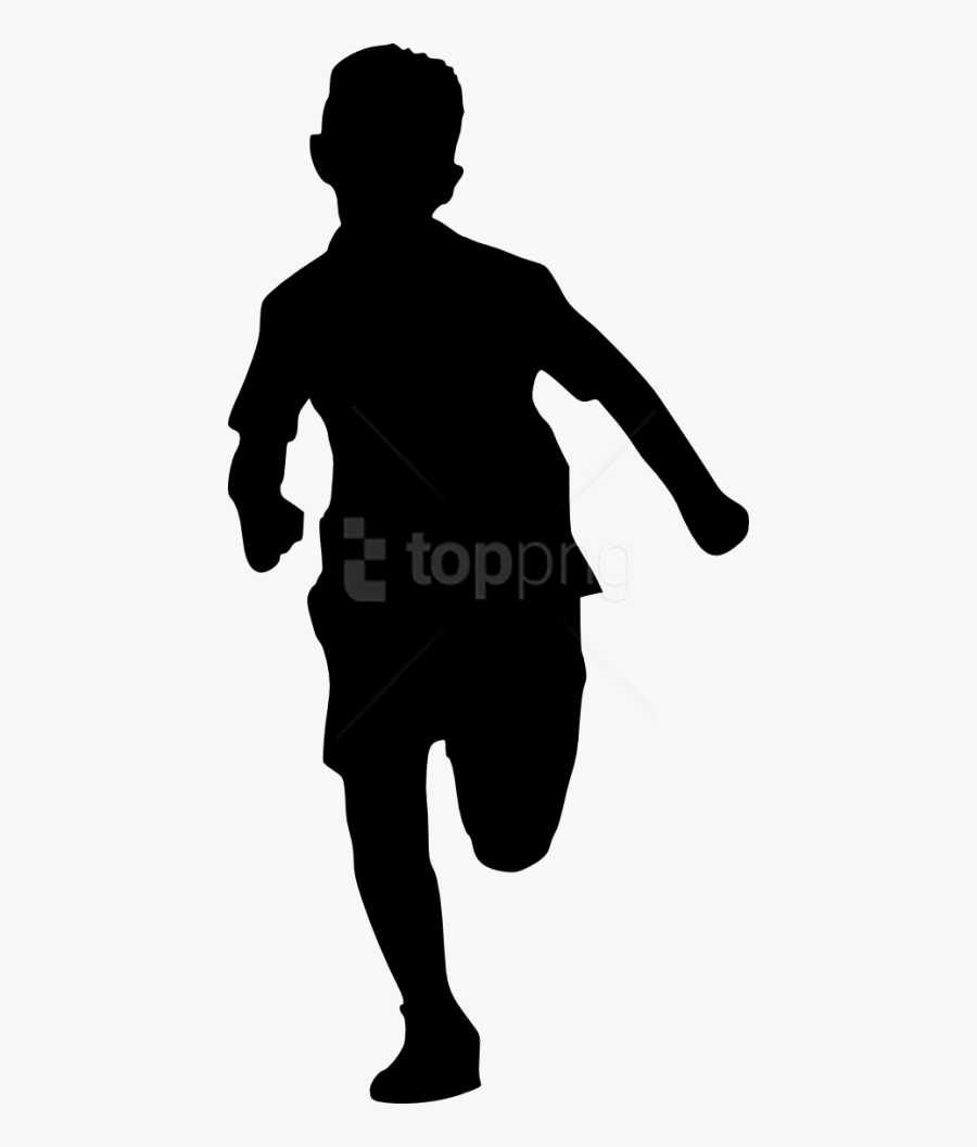 Kids Silhouette Png Person Standing Silhouette Png Free Transparent Clipart Clipartkey