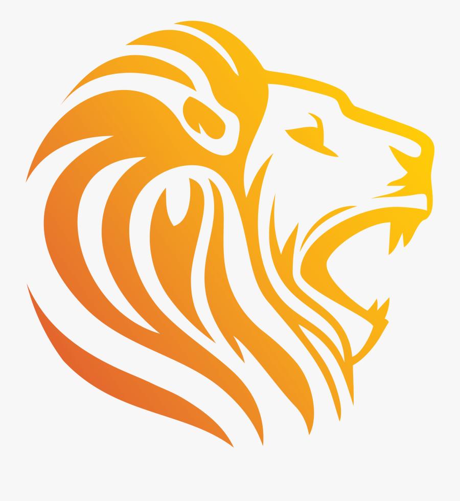 Lion Clip Art Logo - Royalty Free Lion Logo, Transparent Clipart