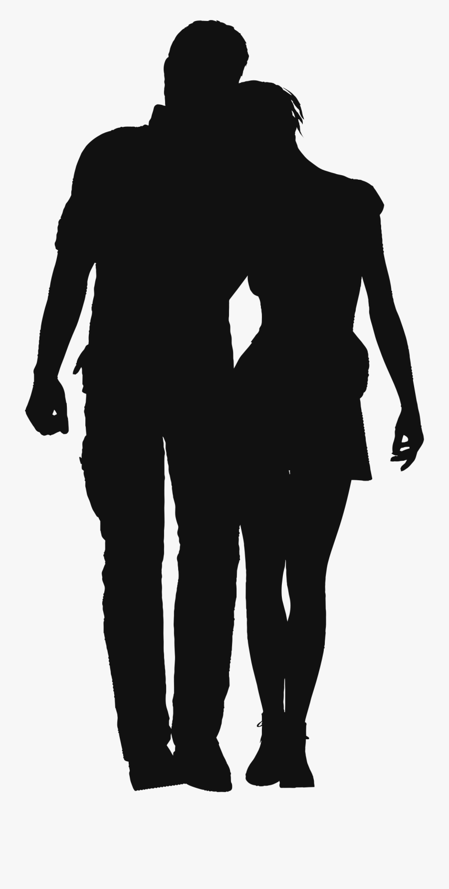 Shadow Clipart Couple Black Shadow Couple Png Free Transparent Clipart Clipartkey