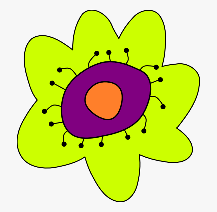 Flowers Cartoon - Cartoon Flower, Transparent Clipart