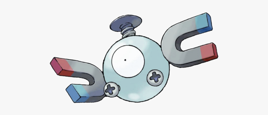 Magnet Clipart Artificial - Pokemon Magnemite, Transparent Clipart