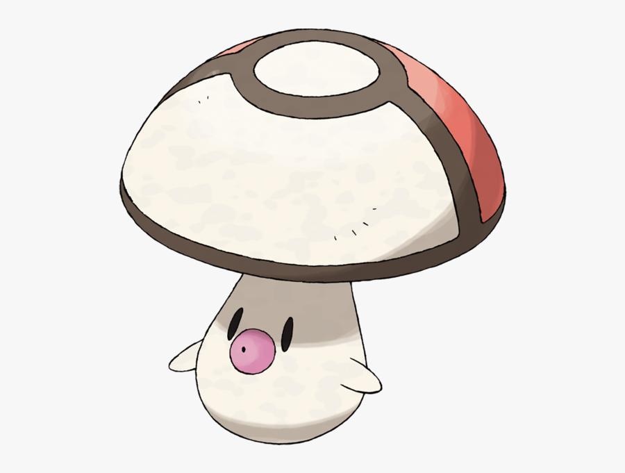Grass Clipart Fungus - Foongus Pokemon, Transparent Clipart