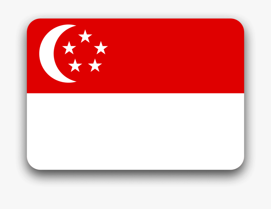 Flag Of Singapore Transparent Background, Transparent Clipart