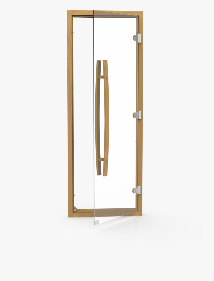 Handle For Glass Door To Sauna , Png Download - Four Sided Door Frame, Transparent Clipart