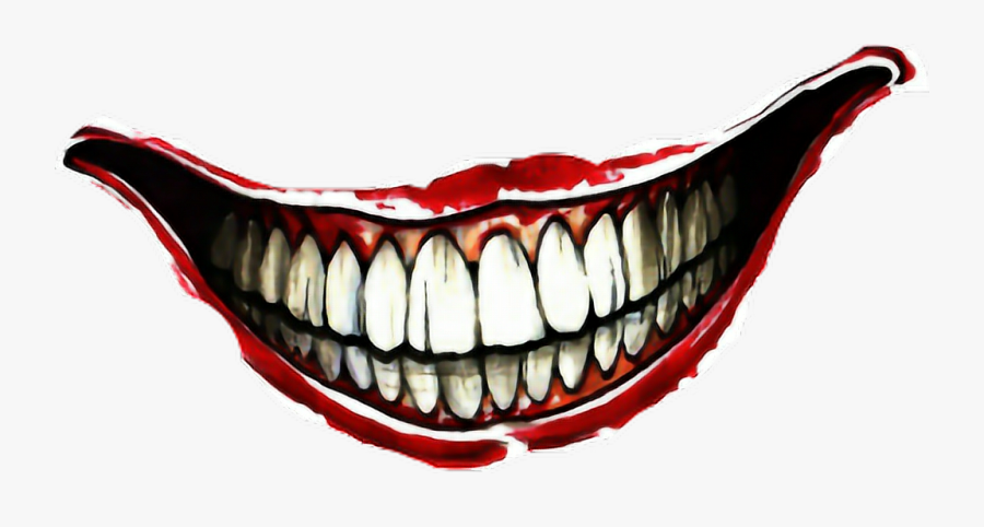 Jokers Smile Tattoo On Hand Clipart , Png Download - Joker Smile, Transparent Clipart