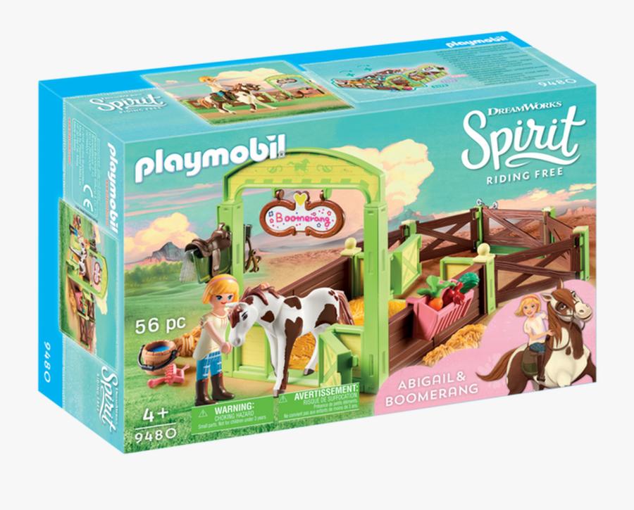 Playmobil Spirit Riding Free Abigail & Boomerang With - Spirit Riding Free Playmobil, Transparent Clipart