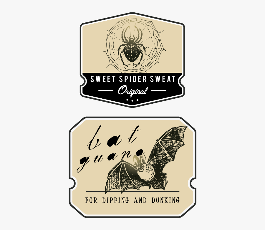 Label Clipart Apothecary - Vintage Halloween Apothecary Label, Transparent Clipart