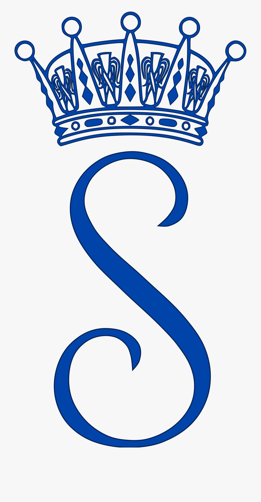 Princess Sofia Of Sweden - Royal Monogram Princess Eugenie, Transparent Clipart