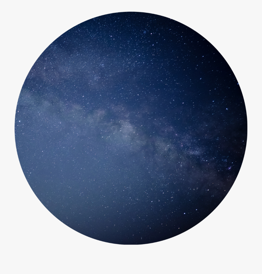 💙  #galaxy #stars #circle #space #background #aesthetic - Aesthetic Circle Star, Transparent Clipart