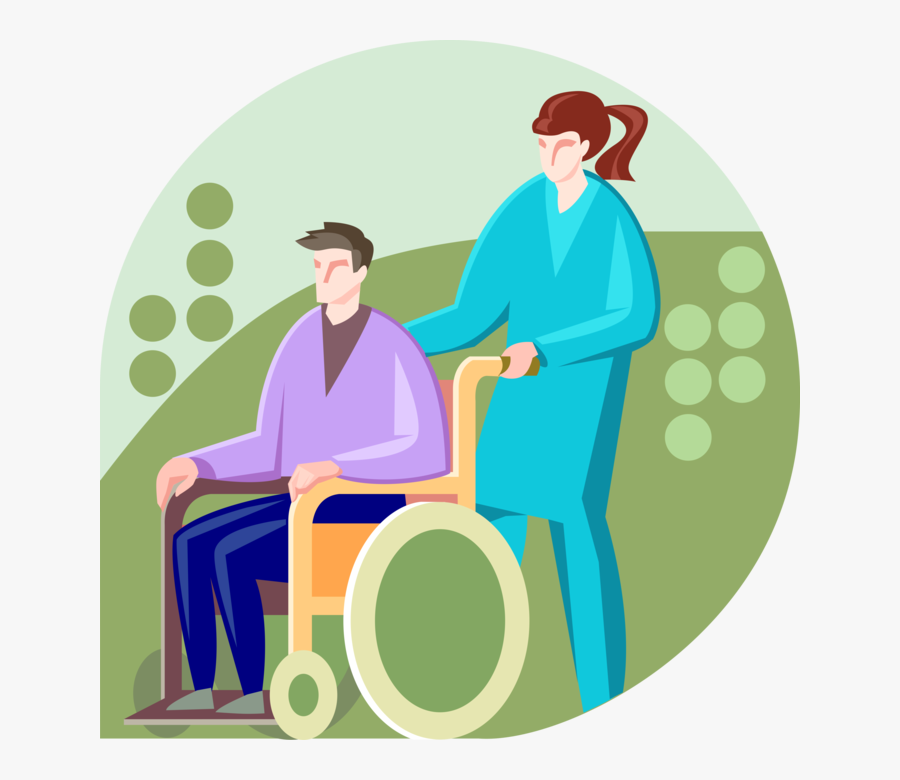 Physically Disabled Man In Image Illustration Of - Physically Disabled Png, Transparent Clipart