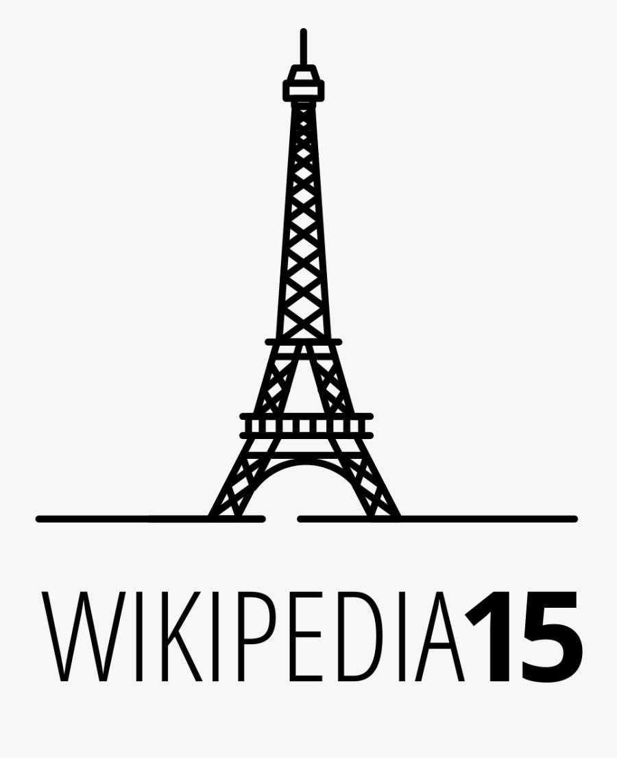 Transparent Eiffel Tower Vector Png - Beginner Eiffel Tower Easy Drawing, Transparent Clipart
