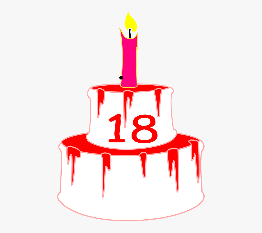 Sensational Candle Birthday Cake 18 Birthday Cake Celebration 18Th Funny Birthday Cards Online Elaedamsfinfo