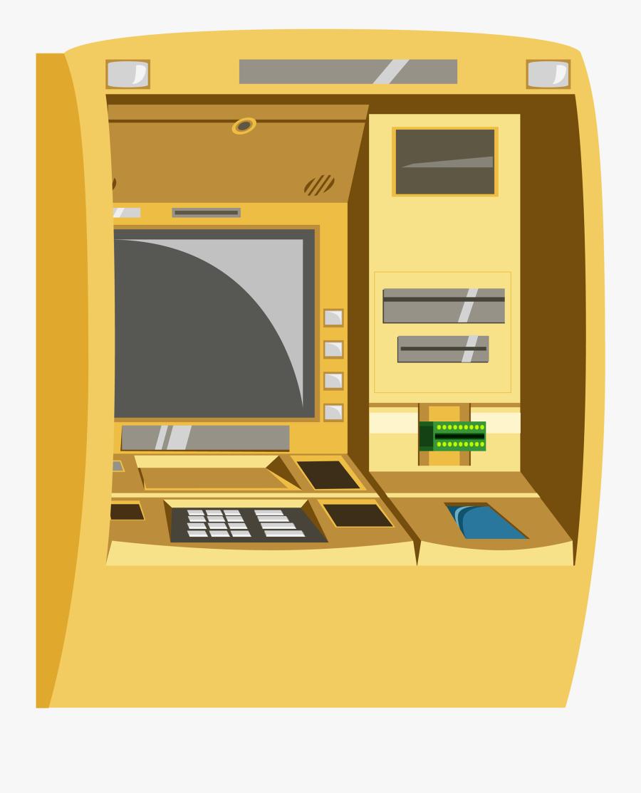 Cash Deposit Machine Clipart, Transparent Clipart