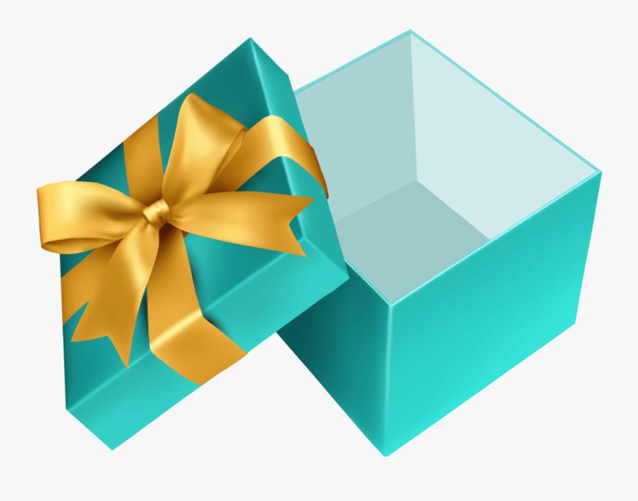 Transparent Christmas Gift Box Png - Open Present Box Clip Art, Transparent Clipart