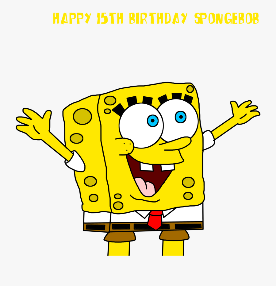 Collection Of Free Drawing Spongebob Face Download - Spongebob Happy Face Transparent, Transparent Clipart