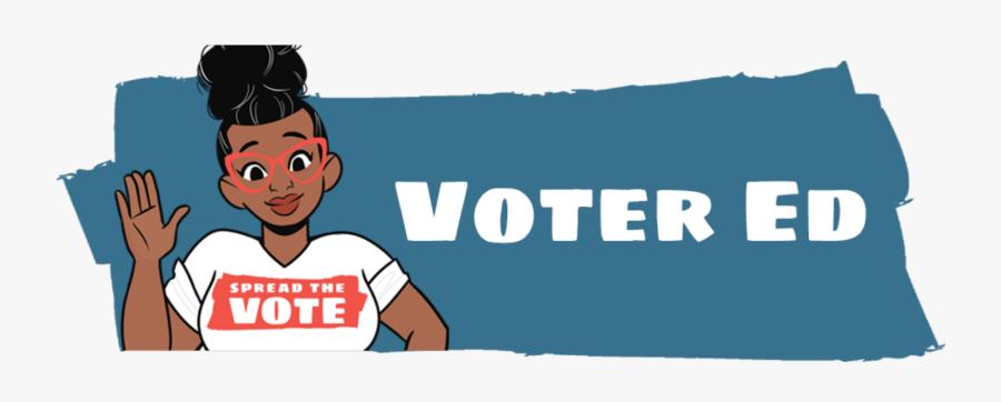 Voters Education, Transparent Clipart