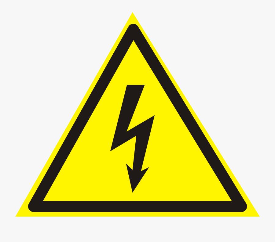 Warning Symbol, Transparent Clipart