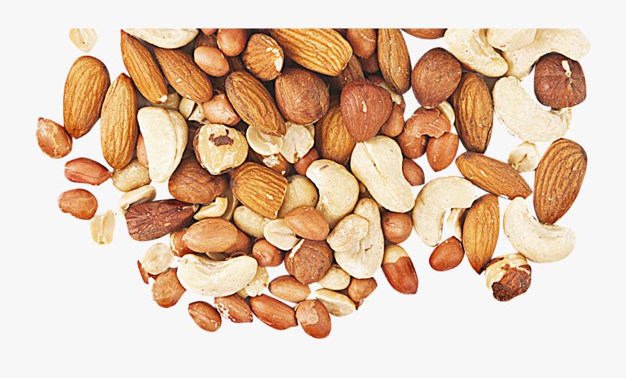 Product Nature S Heart - Dry Fruits Transparent Background, Transparent Clipart