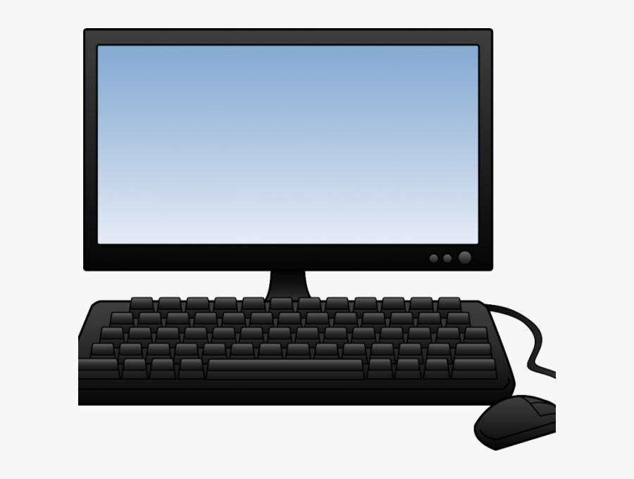 Computer Clipart , Transparent Cartoons - Transparent Background Computer Clipart, Transparent Clipart
