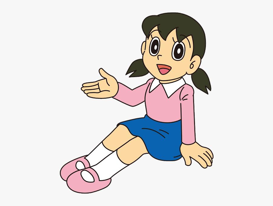 Nobita Shizuka Doraemon, Transparent Clipart