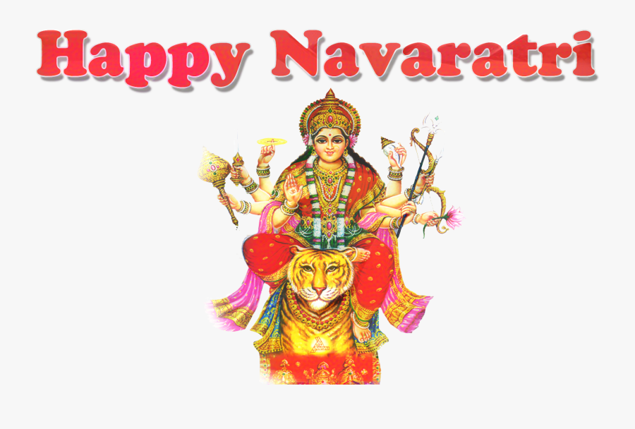 Durga Puja Hd Full, Transparent Clipart