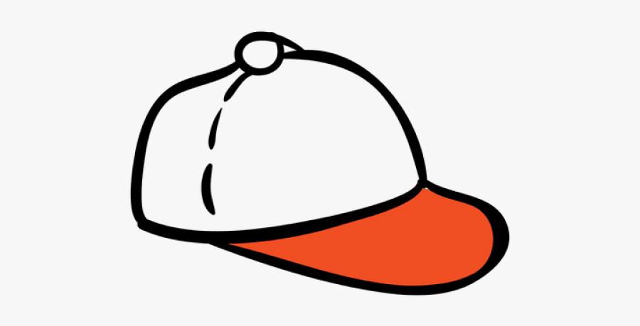 Baseball Cap Hand Drawn, Transparent Clipart