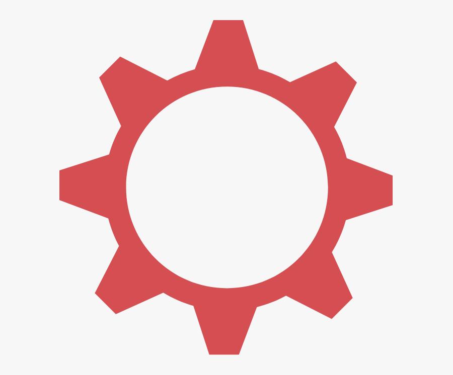 Gear Two - Mobile App Development Icon, Transparent Clipart