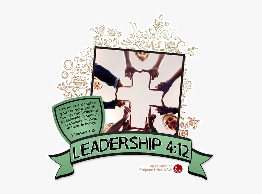 Leadership Is A Training - Poster, Transparent Clipart