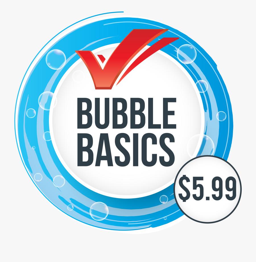 Bubble Bath Car Wash Basic Wash - Circle, Transparent Clipart