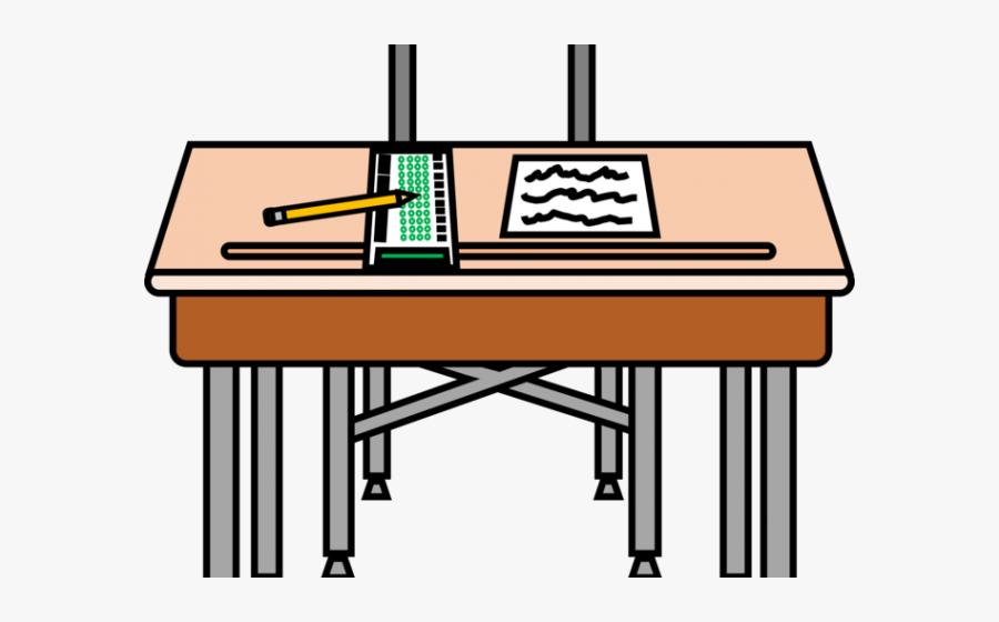 Desk Clipart, Transparent Clipart