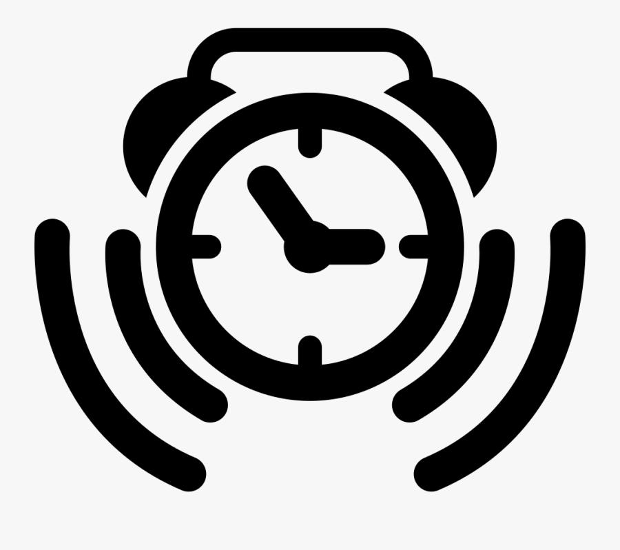 Ringing Alarm Clock Png Alarm Clock Ringing Icon - Clock Alarm Icon Png, Transparent Clipart