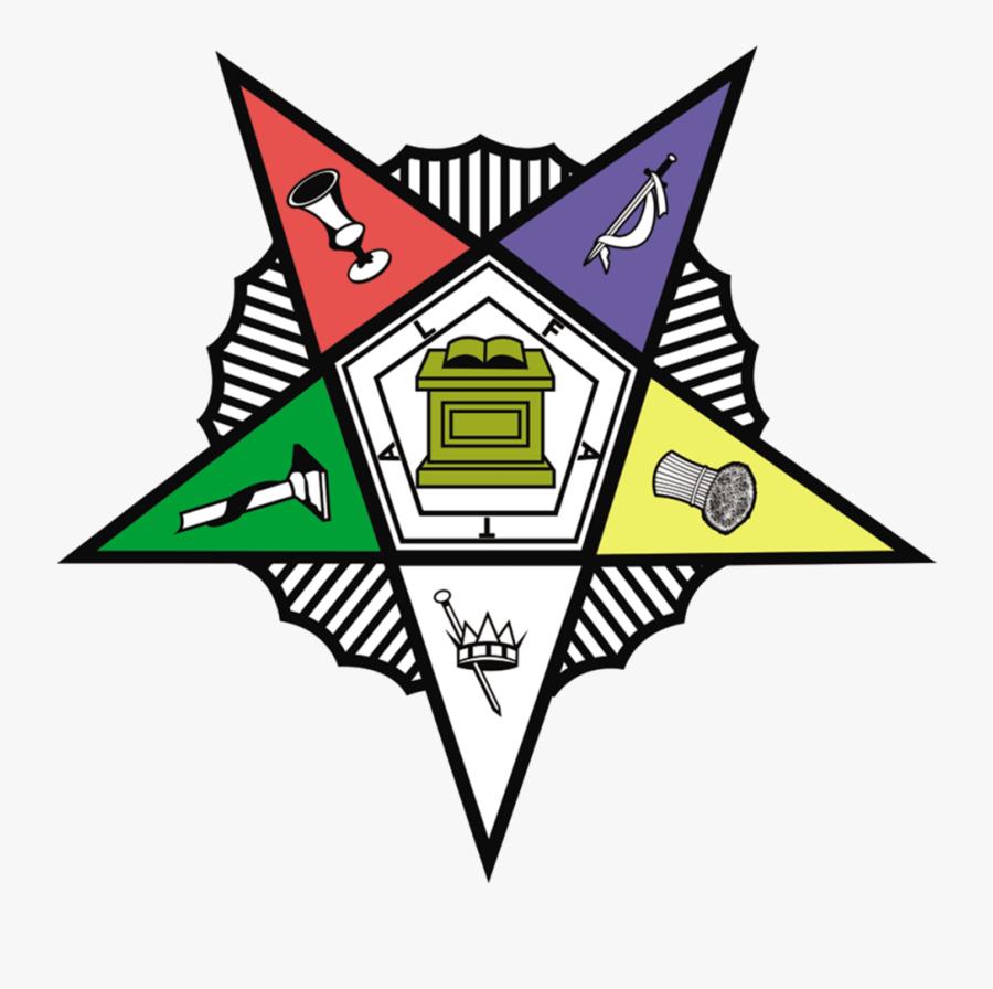 Eastern Star Logo - Eastern Star Emblem Clipart, Transparent Clipart