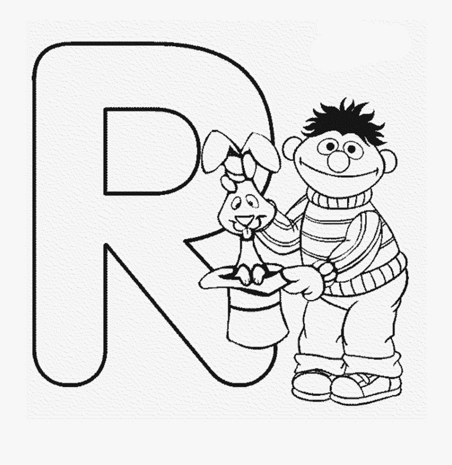 Remarkable Lettersing Pages Alphabet Printable Tone - Alphabet Coloring Sesame Street, Transparent Clipart