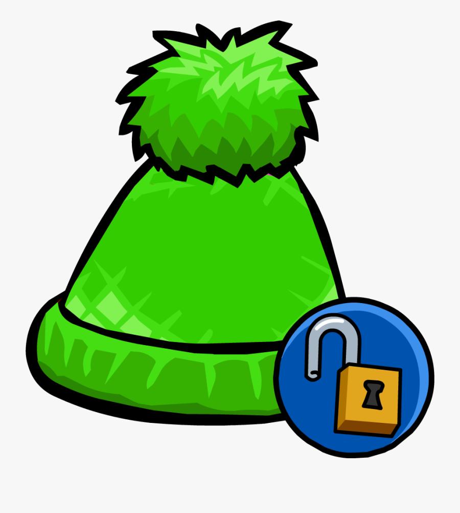 Club Penguin Wiki - Pom Pom Hats Clipart, Transparent Clipart