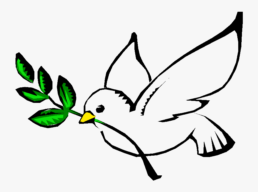 Peace Dove Clipart Holy Spirit - God The Holy Spirit Symbol, Transparent Clipart
