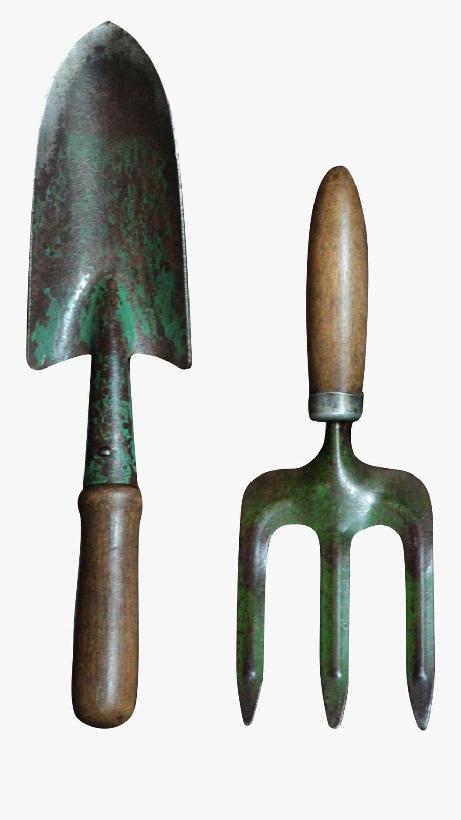 Transparent Trowel Png - Garden Hand Tool Png, Transparent Clipart