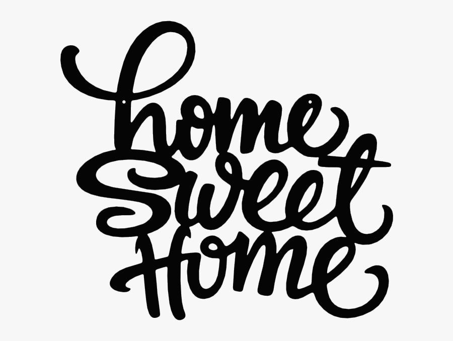 """Home Sweet Home""""  Class=""""lazyload Lazyload Fade In - Home Sweet Home Invitation, Transparent Clipart"""